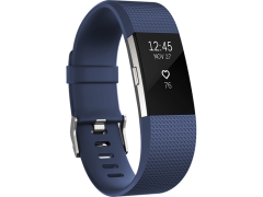 FITBIT Charge 2 Blue Silver Large EMEA - (FB407SBUL-EU)