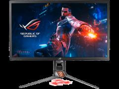 ASUS ROG Swift PG27UQ Gaming Monitor - 27inch 4K Ultra HD, 144Hz, G-SYNC, Quantum-dot, Aura Sync