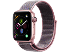APPLE Watch Series 4 40mm Gold με Pink Sand Sport Loop