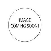 Ψηστιέρα κόκκινη με σχάρα και 6 σουβλάκια 35x42x15εκ. 1200W - OEM