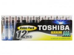 TOSHIBA AAA LR03 Alkaline (12 τμχ) & AA LR06 (6 τμχ) & LR1130 (1 τμχ) & 27A (1 τμχ)