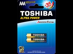 TOSHIBA LR03GCH BP-2 Alpha Power Super Alkaline AAA 2τμχ