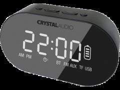 CRYSTAL AUDIO BTC1K BT Speaker Alarm Clock Μαύρο