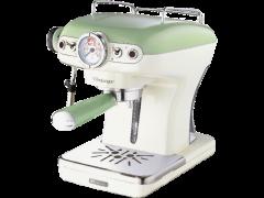 ARIETE 1389/14 Green Espresso Machine Vintage