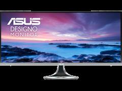 ASUS Designo Curved MX34VQ 34 inch Ultra HD+ Monitor, 100Hz, Eye Care, Adaptive-Sync