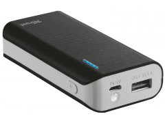 TRUST PRIMO POWERBANK 4400 PORTABLE CHARGER - BLACK - (21224)