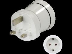 HAMA Travel Adapter Plug German-UK (121995)