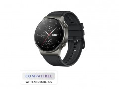 Smartwatch Huawei Watch GT 2 Pro 47mm Μαύρο