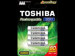 BATTERY TOSHIBA RECH AAA 950MAH BP4