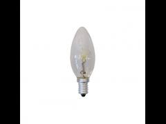 EUROLAMP Λάμπα Minion Αλογόνου 28W E14 240V Διάφανη - (800-88360)