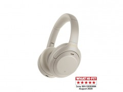 SONY WH-1000XM4 Wireless Noise-Canceling Headphones Silver
