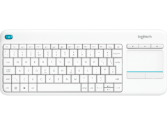 LOGITECH Wireless Touch Keyboard K400 Plus White - (920-007146)