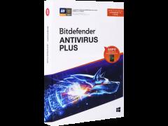 SW UT BITDEFENDER ANTIVIRUS+ 3PC 1Y