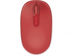 MICROSOFT Wireless Mobile Mouse 1850 Red - (U7Z-00034)
