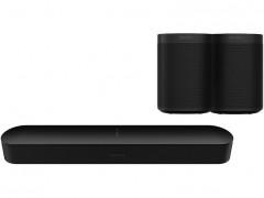SONOS Beam μαζί με One SL Black
