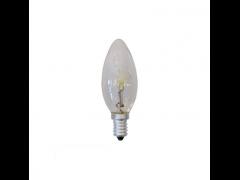 EUROLAMP Λάμπα Minion Αλογόνου 42W E14 240V Διάφανη - (800-88361)