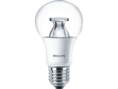 PHILIPS LED 9.5/E27CL/WW 60W E27 WW 230V A60 CL ND/4