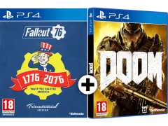 Fallout 76 Tricentennial Edition και Doom PlayStation 4