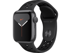 APPLE Watch Series 5 Nike 44mm Space Grey με Μαύρο Nike Sport Band