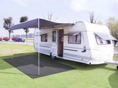 vidaXL Χαλί Camping Ανθρακί 250 x 500 εκ.
