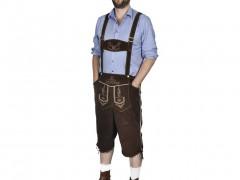 vidaXL Παραδοσιακή στολή Βαυαρού Για το Oktoberfest Μέγεθος L