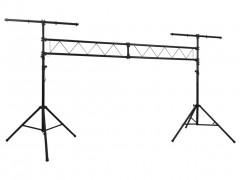 vidaXL Σύστημα Τράσας για Φωτισμό Φορητό με 2 Τρίποδα 3 μ.
