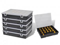 vidaXL Κουτί Αποθήκευσης με Θήκες Ταξινόμησης 6 τεμ.