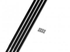 vidaXL Σωλήνας Προέκτασης για Τρυπάνι Εδάφους 4 x 1 μ. Χαλύβδινος