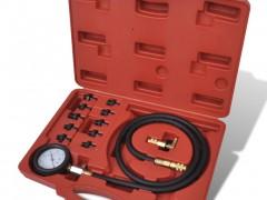 vidaXL Όργανο μέτρησης πίεσης λαδιού Με εργαλειοθήκη
