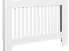 vidaXL Κάλυμμα Καλοριφέρ / Ντουλάπι Θέρμανσης Λευκό 112 εκ. από MDF