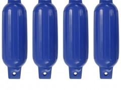 vidaXL Μπαλόνια Σκάφους 4 τεμ. Μπλε 41 x 11,5 εκ. από PVC
