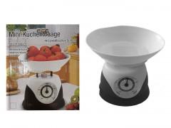 Ζυγαριά Κουζίνας Αναλογική Με Μπωλ 15,5x11x18εκ. Homie 81-910 - Homie - 81-910