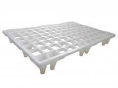 110White Λευκή Πλαστική Παλέτα - Ευρωπαλέτα (Στατικό φορτίο: 1400kg / 1200x800x135mm)