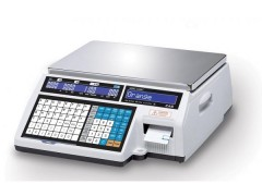 CAS CL5000J-30-CB Ηλεκτρονική Ζυγαριά Λιανικής Με Ετικέτα (Ικανότητα Ζύγισης: 15/30Kg - Υποδιαίρεση: 5/10gr)
