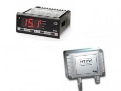 LAE Electronic AC1-5AS2RW + HT2WSE Υγροστάτης Ηλεκτρονικός Με 2 Ρελέ - 115/230Volt & Αισθητήριο Υγρασίας (Σχετική Υγρασία: 0%-100%)