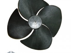 FrigoHellas B.N OEM Πλαστικό Φτερό Εξωτερικής Μονάδας Κλιματιστικού - Ø457mm / 4Φτερά / CW / 10mm