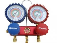 ROBINAIR RA41182E Κάσα Μανομέτρων για Ψυκτικούς - 2 Εξόδων R422D/R404a/R407C/R134a