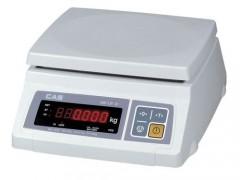 CAS SW-1LR-10K Ηλεκτρονική Ζυγαριά Με LED Για Μέτρηση Τεμαχίων (Ικανότητα Ζύγισης: 4/10Kg - Υποδιαίρεση: 2/5gr)