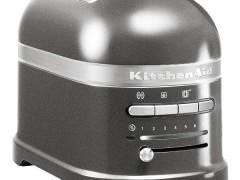 KitchenAid Artisan 5KMT2204MS Φρυγανιέρα Ασημένιο Λαμπερό 2 Θέσεων - 1250Watt (Υποστηρίζετε από εξουσιοδοτημένο service στην Ελλάδα)