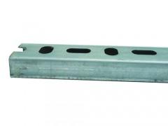 H-IT 10526 Ράγα Στήριξης Φαρδιά - ΠxΥxΜ: 28mm x 30mm x 2m