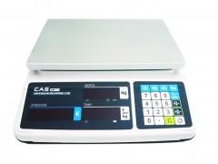 CAS PR-15-B Ζυγαριά Λιανικής & Λαικών Αγορών - Μπαταρίας & Ρεύματος (Ικανότητα Ζύγισης: 6/15Kg - Υποδιαίρεση: 2/5gr)