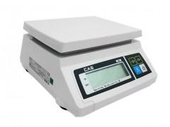 CAS SW-1S-5K Ηλεκτρονική Ζυγαριά Για Έλεγχο Βάρους Προιόντων (Ικανότητα Ζύγισης: 2,5/5Kg - Υποδιαίρεση: 1/2gr)