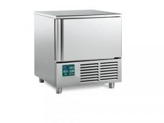 HIBER PCM 051S Blast Chiller-Shock Freezer Χωρητικότητας: 5x Λαμαρίνες 600x400mm - 790x700x850mm