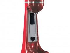 JOHNY AK/2-2T-PR Met - Αυτόματη Φραπιέρα Κόκκινη Με 2 Ταχύτητες Κατάλληλη για Κύπελα - 400Watt