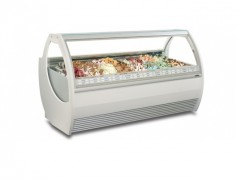 SEVEL KARYA 24-G Επαγγελματικά Ψυγεία Βιτρίνες Χύμα Παγωτού - 24 Γεύσεων - 2250x1190x1370mm