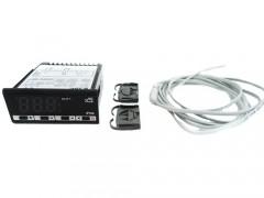 LAE Electronic LTR-5CSRE Θερμοστάτης Ηλεκτρονικός με Δεκαδικές Ενδείξεις Κατάλληλο για Κλωσομηχανές. 1 Αισθητήριο