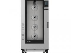 UNOX ChefTop XEVC 2011-GPR Φούρνος Κυκλοθερμικός Αερίου με Υγρασία & Ηλεκτρονικό Πάνελ (20 x GN 1/1)