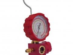 VALUE VMG-1-S-H Κάσα Μανομέτρου Μονή με Μανόμετρο Υψηλής Πίεσης για φρέον R22/R134a/R410a/R407c