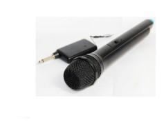 Ασύρματο Μικρόφωνο DJ / ΚΑΡΑΟΚΕ karaoke VHF Hi-Fi - WEISRE DM3308 ΜΑΥΡΟ - WEISRE