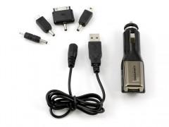 Grundig 46918 Universal Φορτιστής Κινητών USB 12/24V για αυτοκίνητα και φορτηγά με διάφορες προσθήκες για Κινητά Tablet GPS κτλ - Grundig Automotive